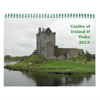 Castles of Ireland Wales Calendar
