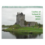 Castles of Ireland & Wales Calendar