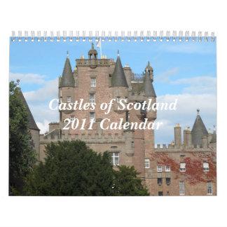 Castles of Scotland 2011Calendar Calendars