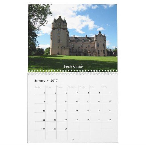 Castles of Scotland 2011Calendar Calendar | Zazzle