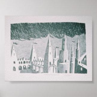 castles print
