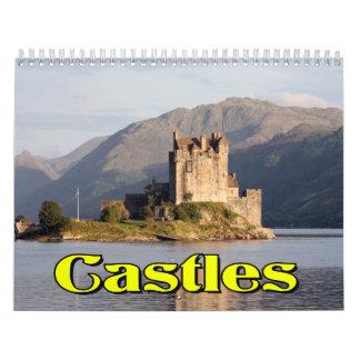 Castles Wall Calendar