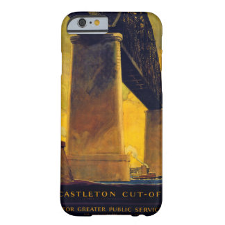 Castleton cut off New York Vintage Poster Barely There iPhone 6 Case
