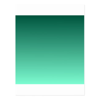 Castleton Green to Aquamarine Horizontal Gradient Postcard