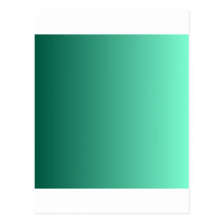 Castleton Green to Aquamarine Vertical Gradient Postcard