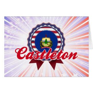 Castleton, VT Tarjeta