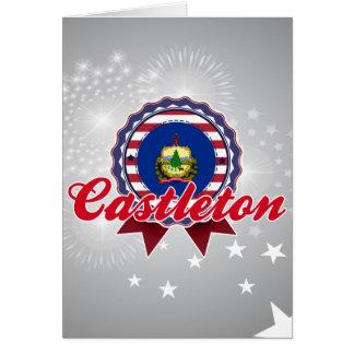Castleton, VT Felicitacion