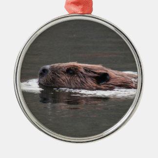 Castor americano ornaments para arbol de navidad