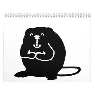 Castor Calendarios