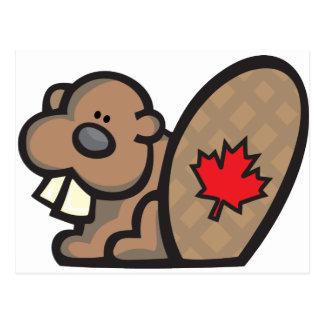 Castor Canadá Postales