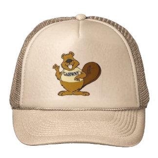 Castor cristalino, nuestra mascota gorras de camionero