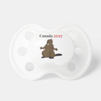 Castor de Canadá 150 en 2017 Chupetes