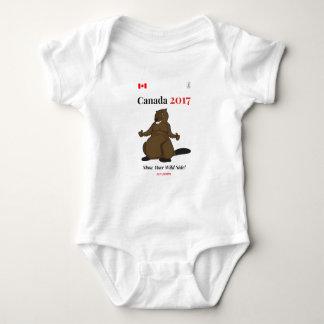 Castor de Canadá 150 en 2017 salvaje Body Para Bebé
