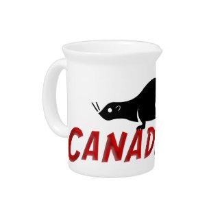 Castor de Canadaville Jarra Para Bebida