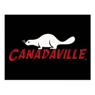 Castor de Canadaville Tarjetas Postales