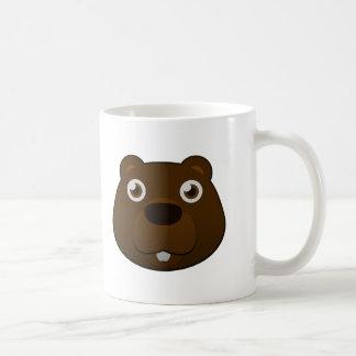 Castor de papel taza de café