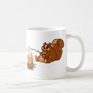 Castor del sitio para acampar taza de café