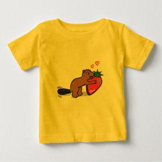 Castor impaciente tee shirt