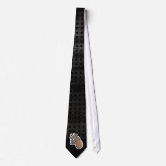 Castor lindo; Fresco Corbatas Personalizadas