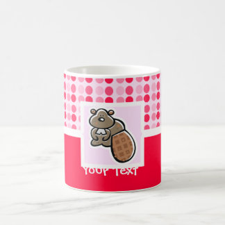 Castor lindo taza