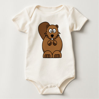 Castor Mamelucos De Bebé