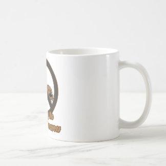 Castor melenudo taza