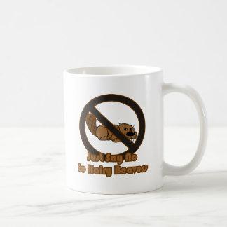 Castor melenudo taza clásica