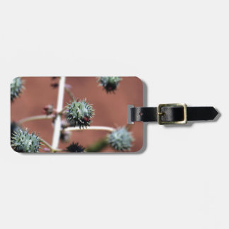 Castor Oil Plant Luggage Tag