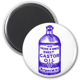 Castor Oil! Yum! Fridge Magnet