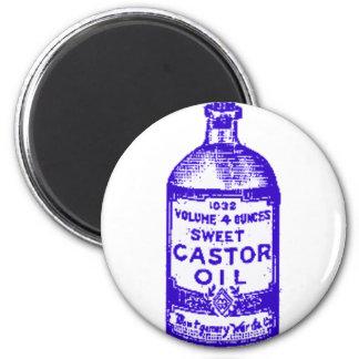Castor Oil! Yum! Refrigerator Magnets
