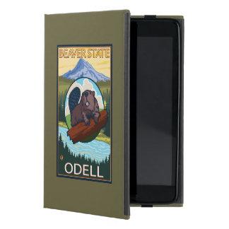 Castor y capilla del Mt. - Odell, Oregon iPad Mini Fundas