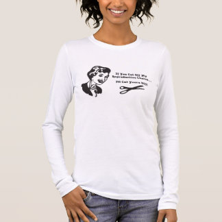 castration! long sleeve T-Shirt