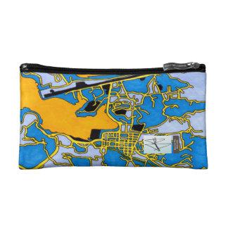 Castries City, Saint Lucia Cosmetic Bag