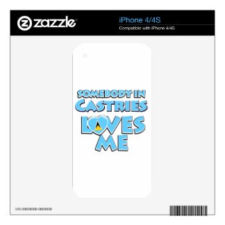Castries Design iPhone 4 Decal