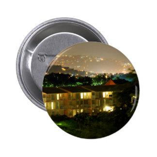 Castries. Saint Lucia Pinback Button
