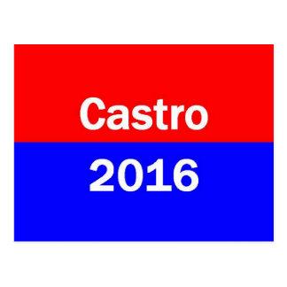 Castro 2016 postcard