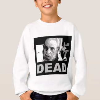 Castro dead (black & white) sweatshirt