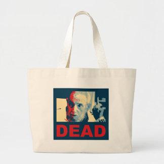 Castro dead (Hope colors) Large Tote Bag