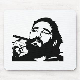 Castro Fidel cuban revolution Mouse Pad
