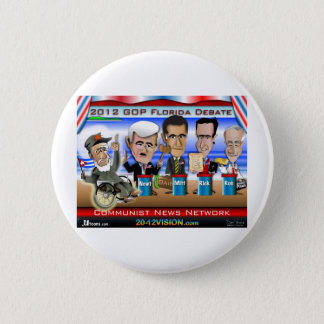 Castro Florida Debate Pinback Button