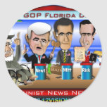 Castro Florida Debate Sticker