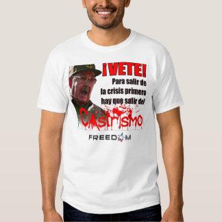 Castro: Get Lost! (Cuba Libre Shirt) Tee Shirt