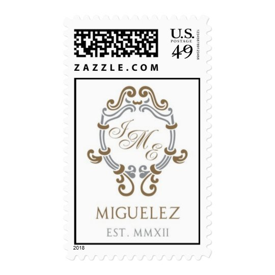 Castro invitation stamp with text