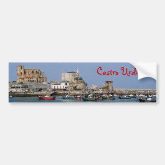 Castro panoramic sticker car