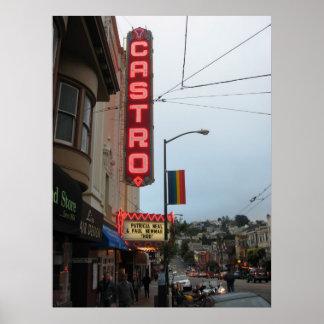 Castro, poster de San Francisco CA