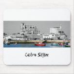 Castro Skyline alfombrilla ratón Mousepad