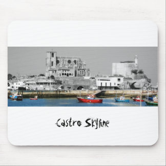 Castro Skyline rug mouse Mouse Pad
