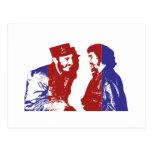 Castro y Che Tarjeta Postal