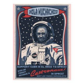 Castronaut Post Card
