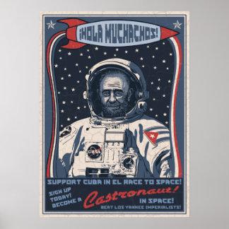 Castronaut Poster